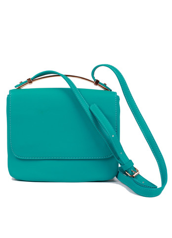 Miss Moncus - Aqua mini satchel