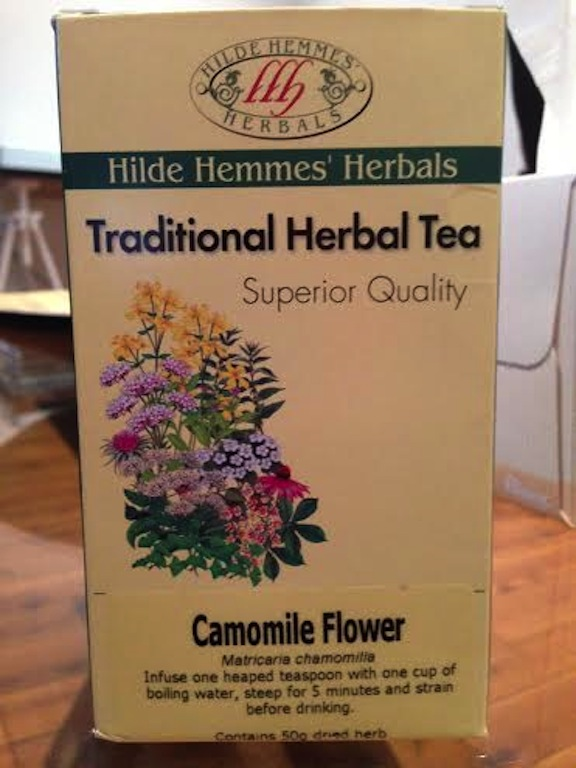 The chamomile we used.