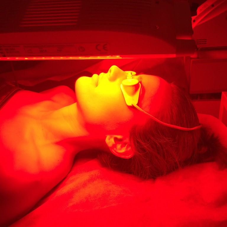 Omnilux light therapy.